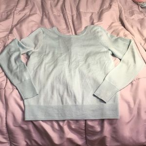 J crew button back sweater